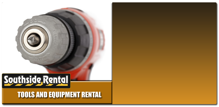 Tools and Equipment Rental Banner