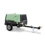 Aircompressor Diesel 185cfm