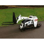 Loader, Walk Behind w/ fork attachment